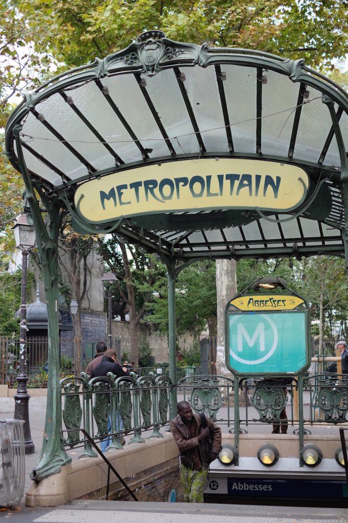 metro Abbesses Montmartre Parigi