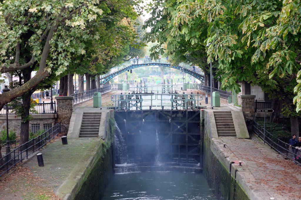 Canal St Martin hipster Paris