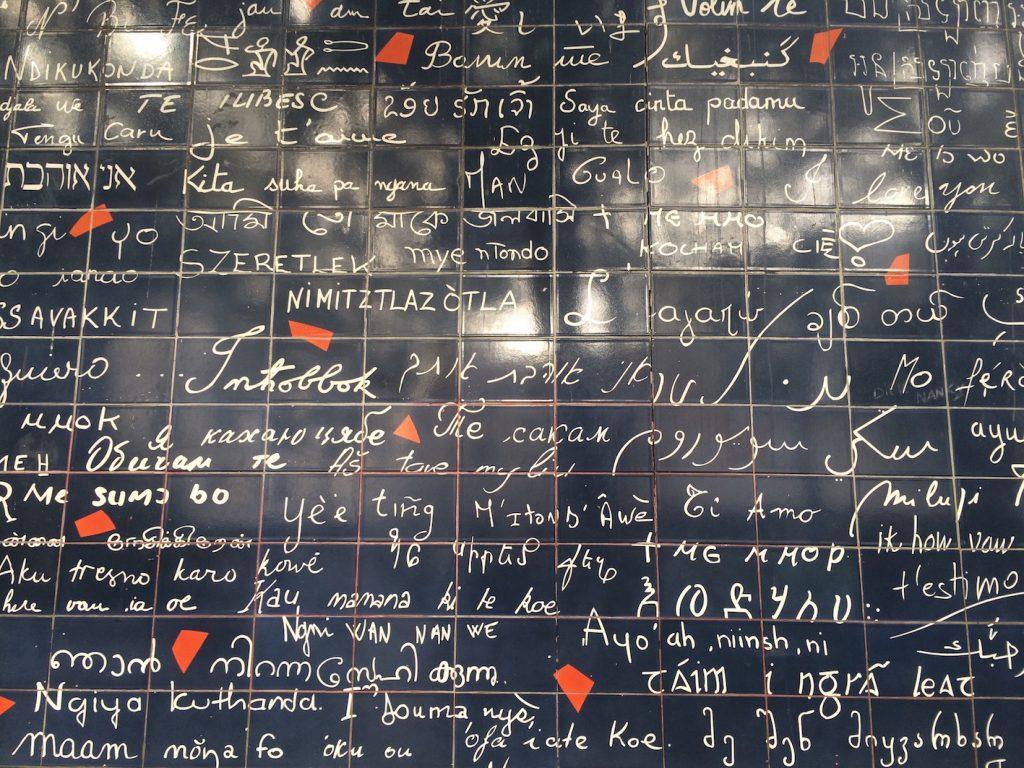 muro dei Ti Amo Parigi Montmartre