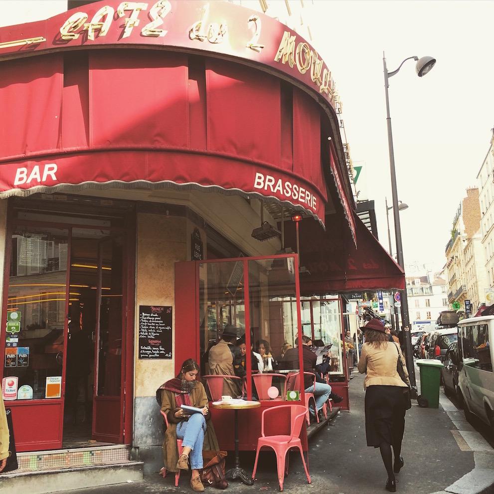 Café des Deux Moulins Amélie Parigi