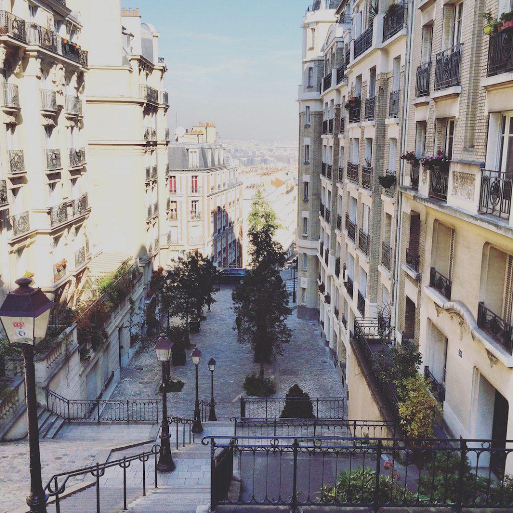 Montmartre Parigi scorcio