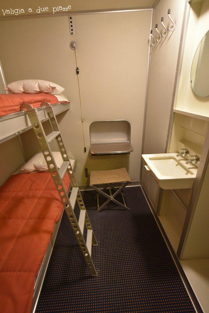 LH 129 dirigibile stanze cuccette