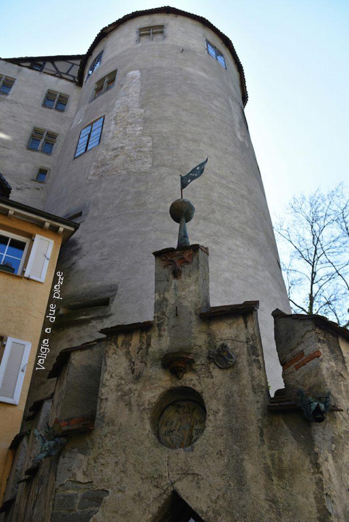 castello medievale Meersburg