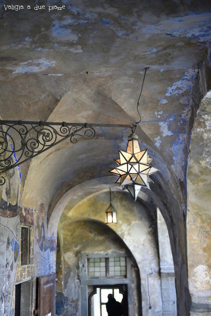 interno del castello medievale Meersburg