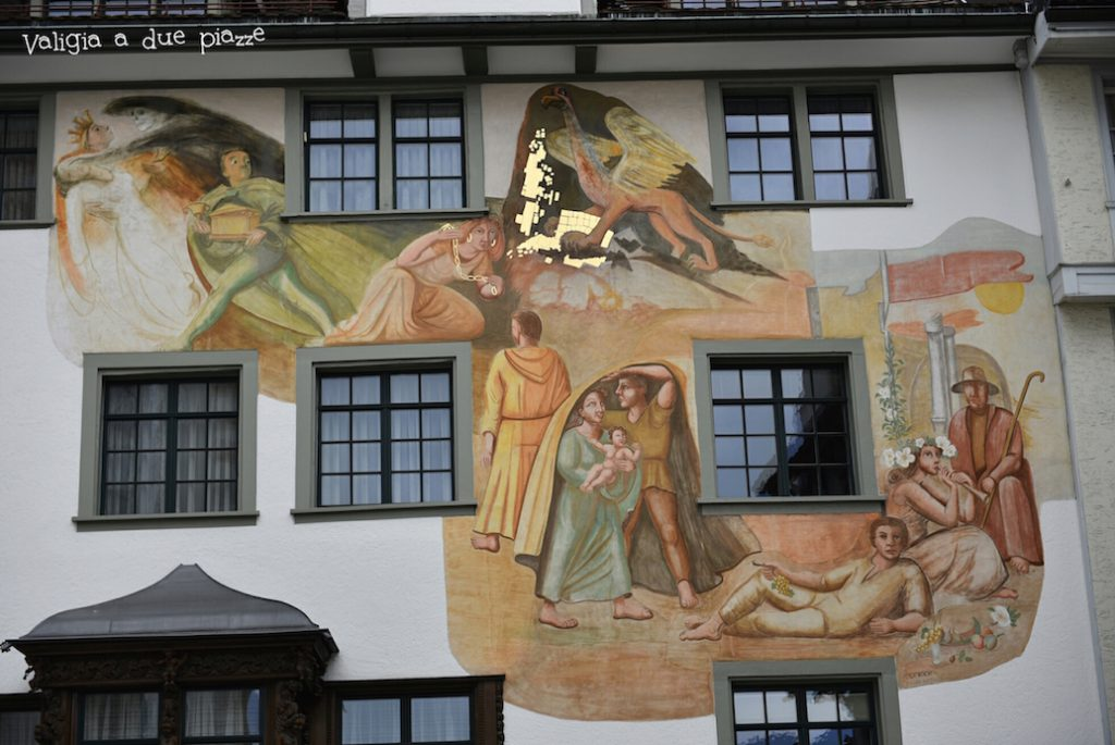 case decorate San Gallo Svizzera Bodensee