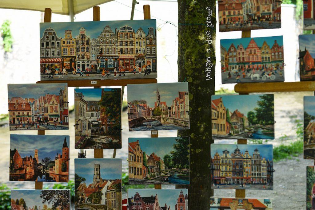 Bruges mercatino delle pulci