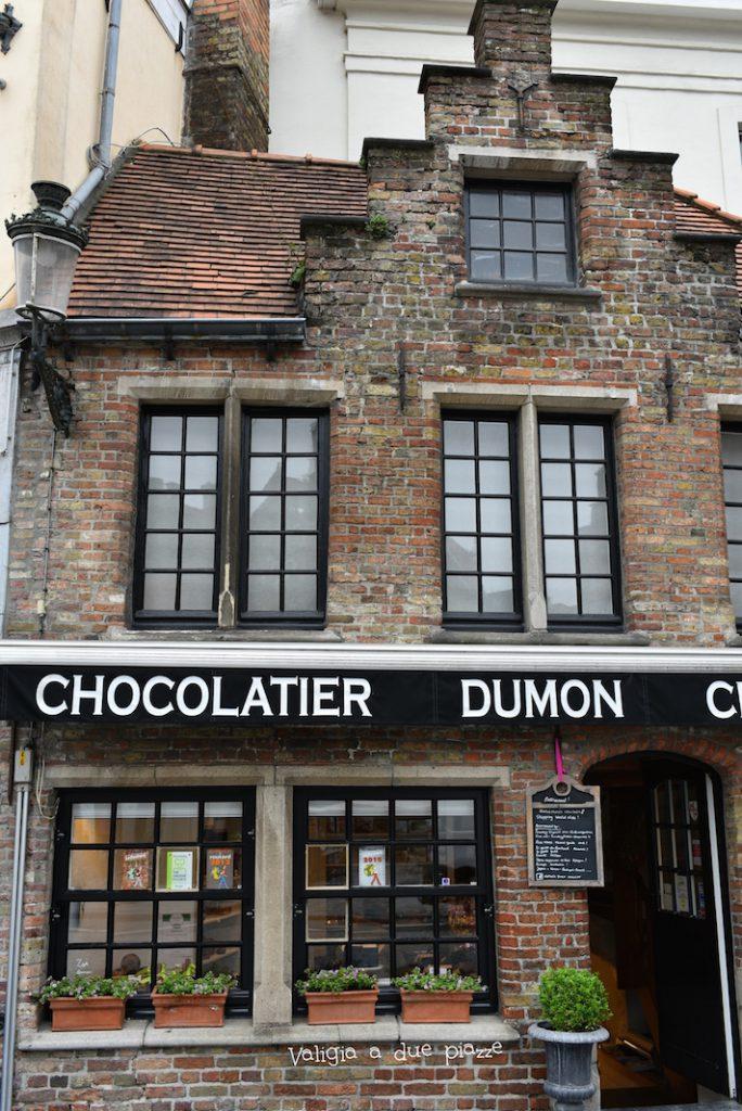 Chocolatier Dumon Bruges