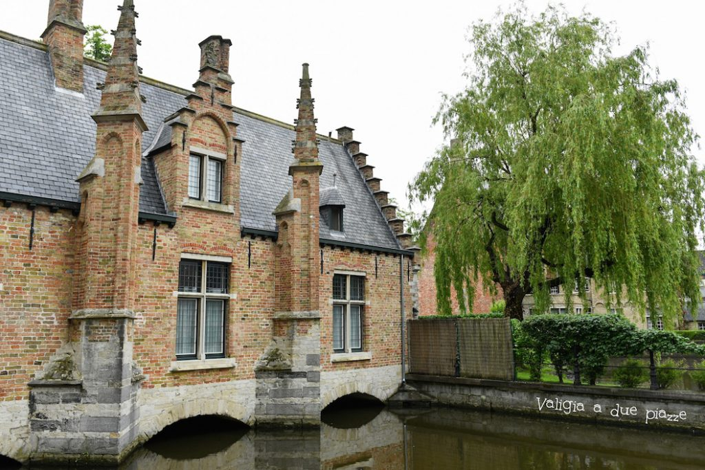 Minnewater, Lago dell'amore a Bruges.
