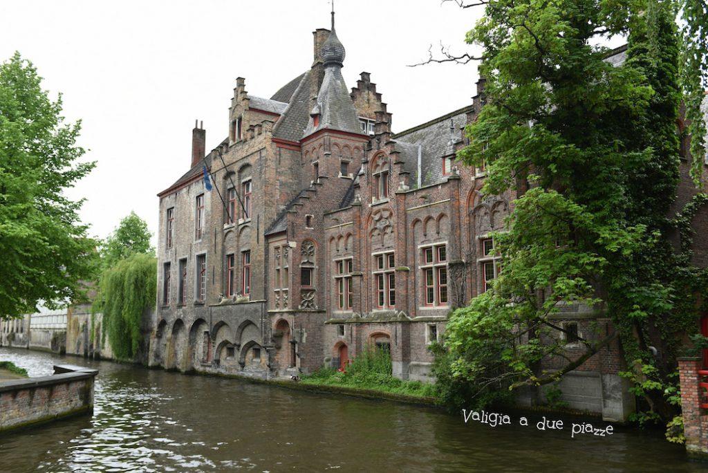 Bruges canali Belgio