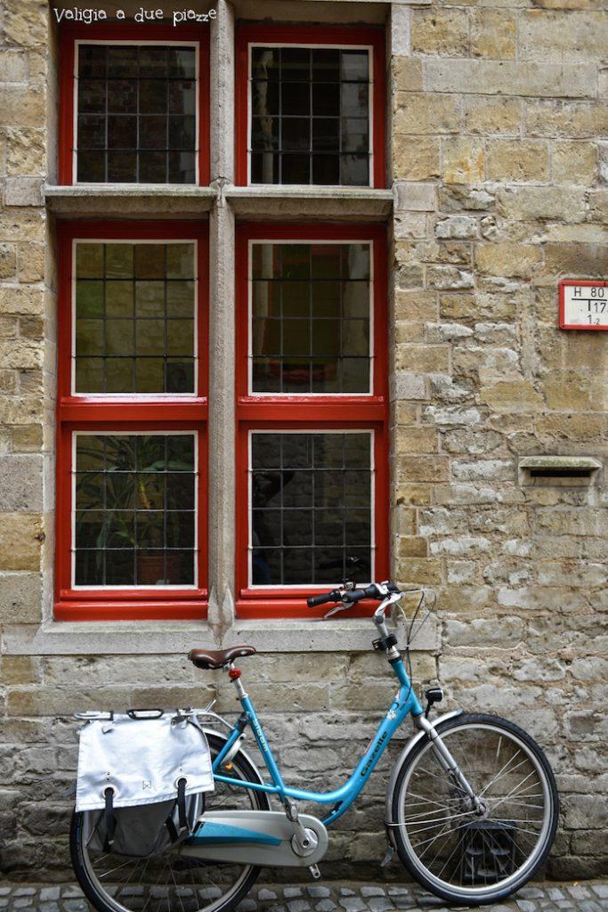 Bruges in bicicletta