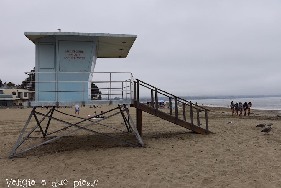 Santa Cruz California spiaggia