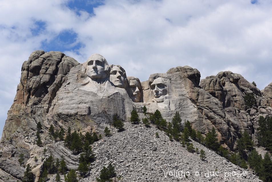 presidenti Monte Rushmore
