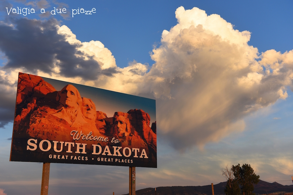 South Dakota confine USA