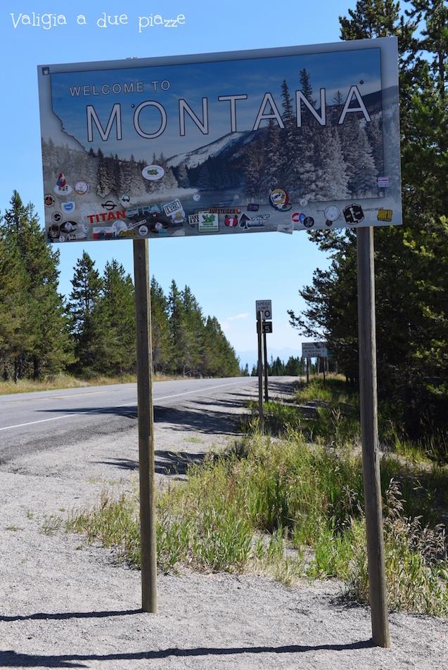 Montana confine USA