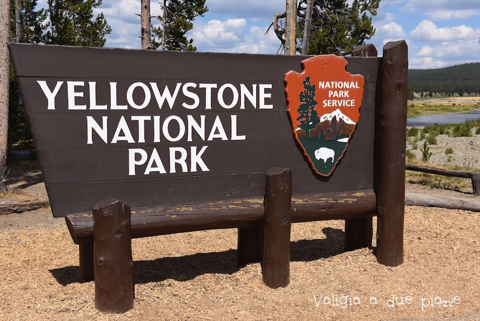 Yellowstone National Park ingresso