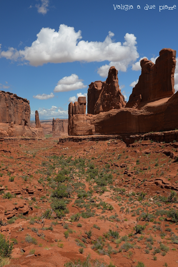 Firfth Avenue Arches National Park Utah Moab
