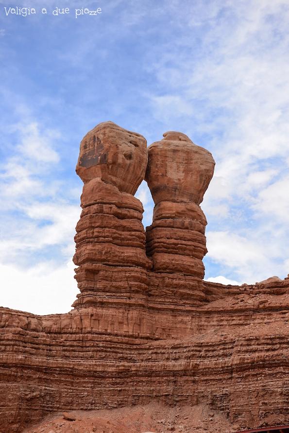 pietre gemelle Bluff Utah