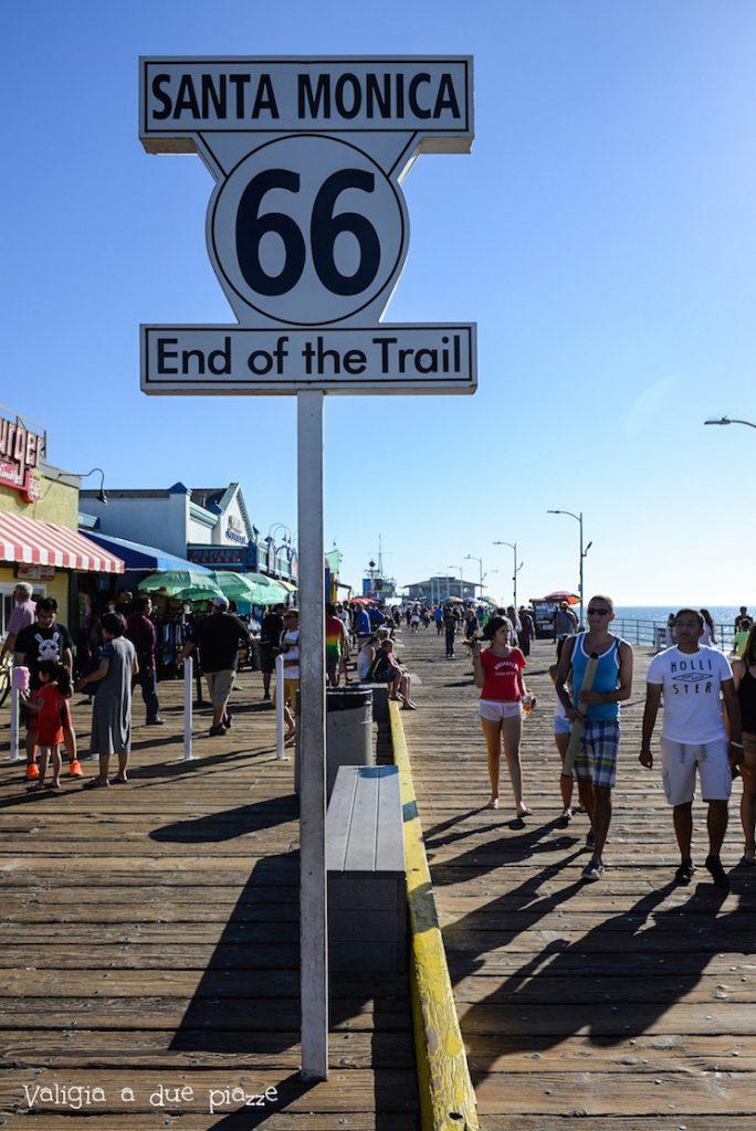 Santa Monica Beach Pier Route 66