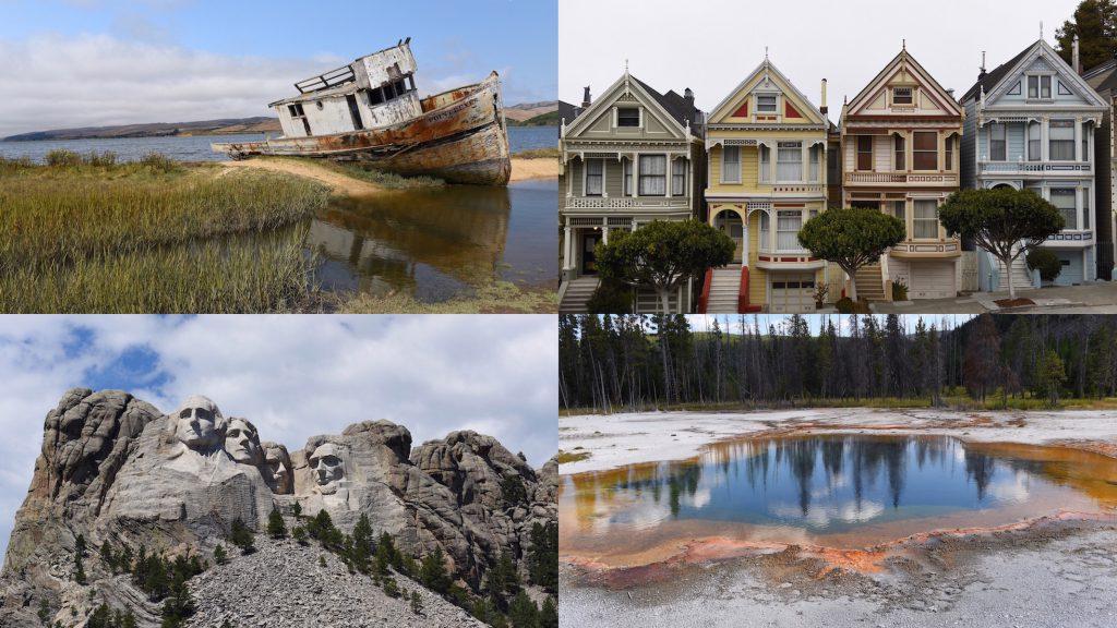 Itinerario west Stati Uniti San Francisco Yellowstone Monte Rushmore