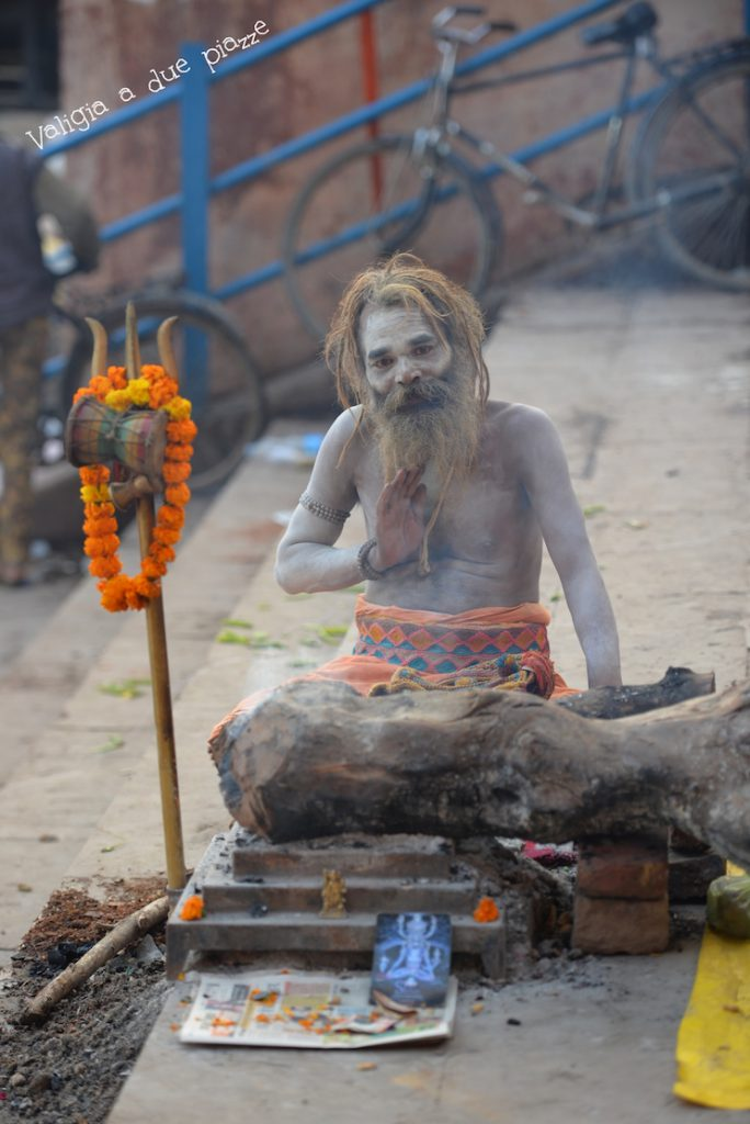 sadhu india varanasi santone