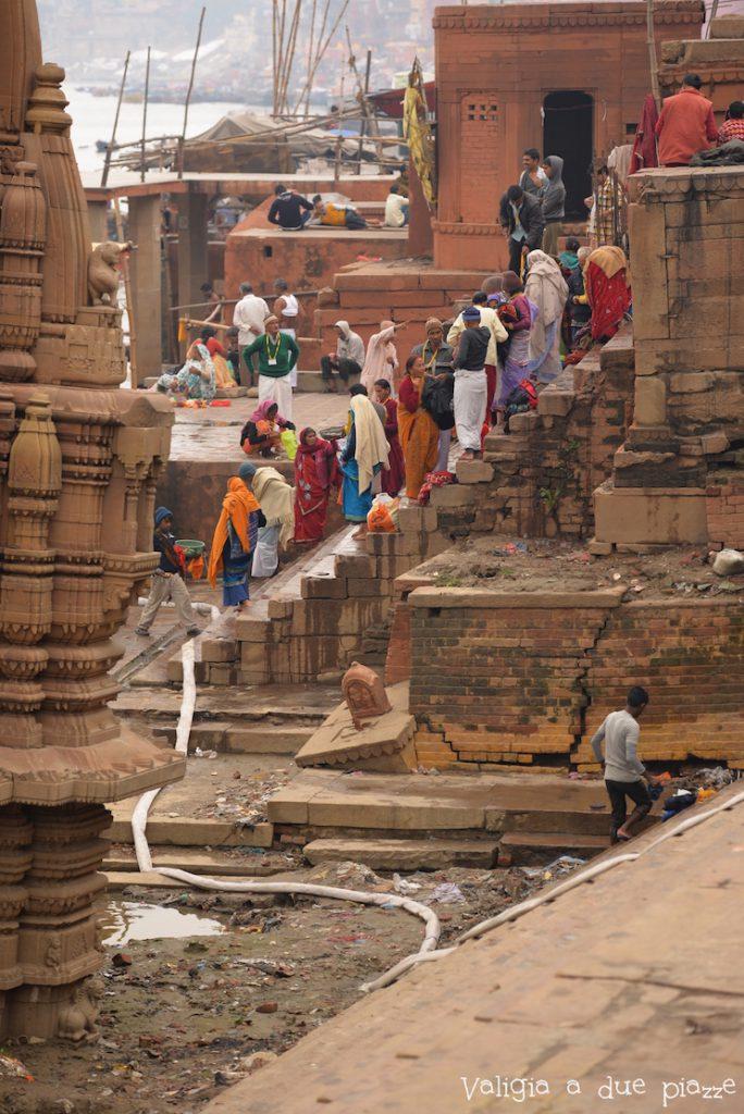 ghat varanasi india
