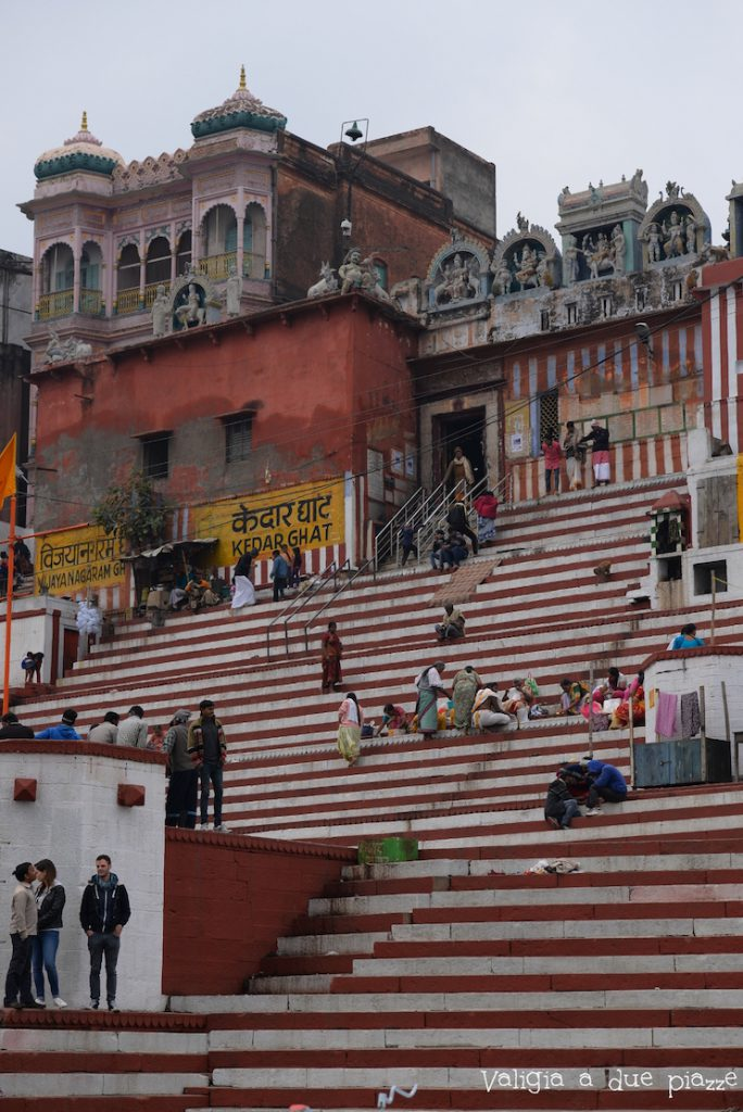 Kedar ghat Varanasi shiva
