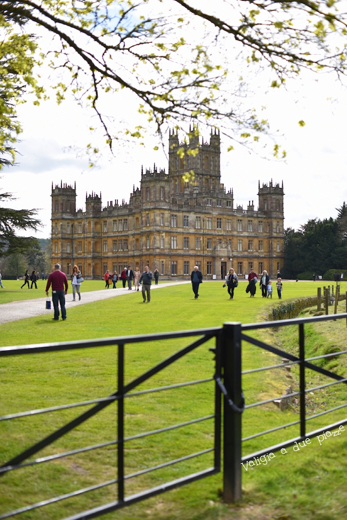 downton abbey hampshire UK