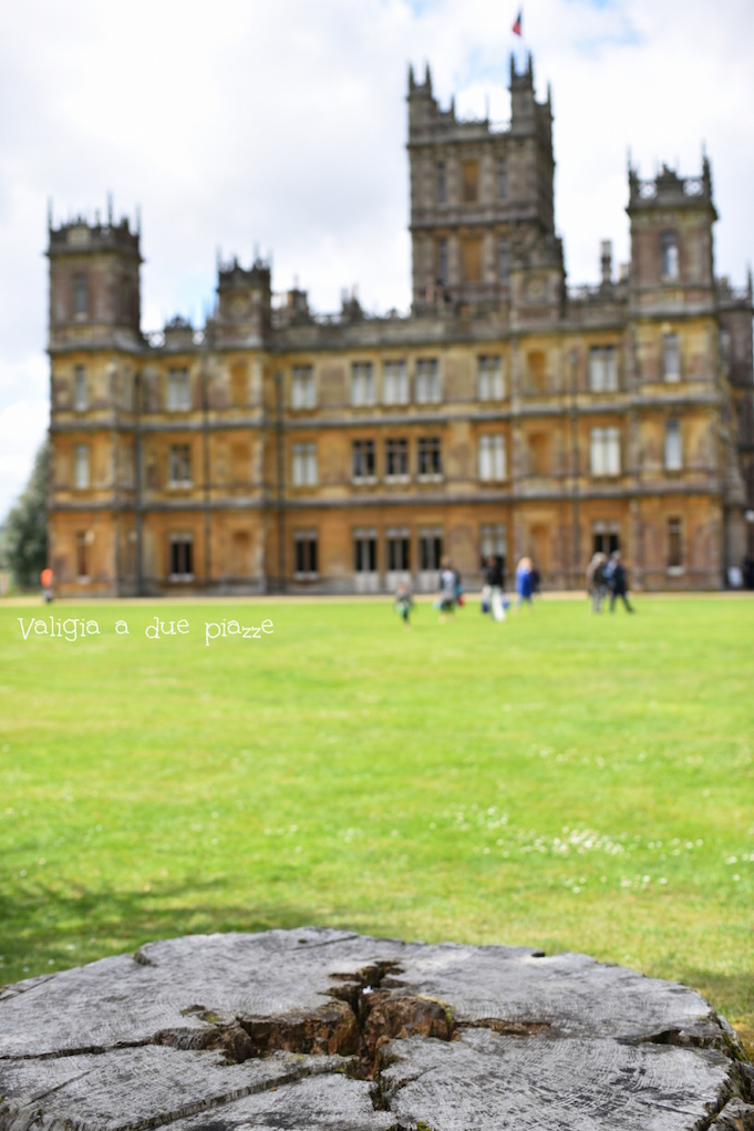 visitare downton abbey