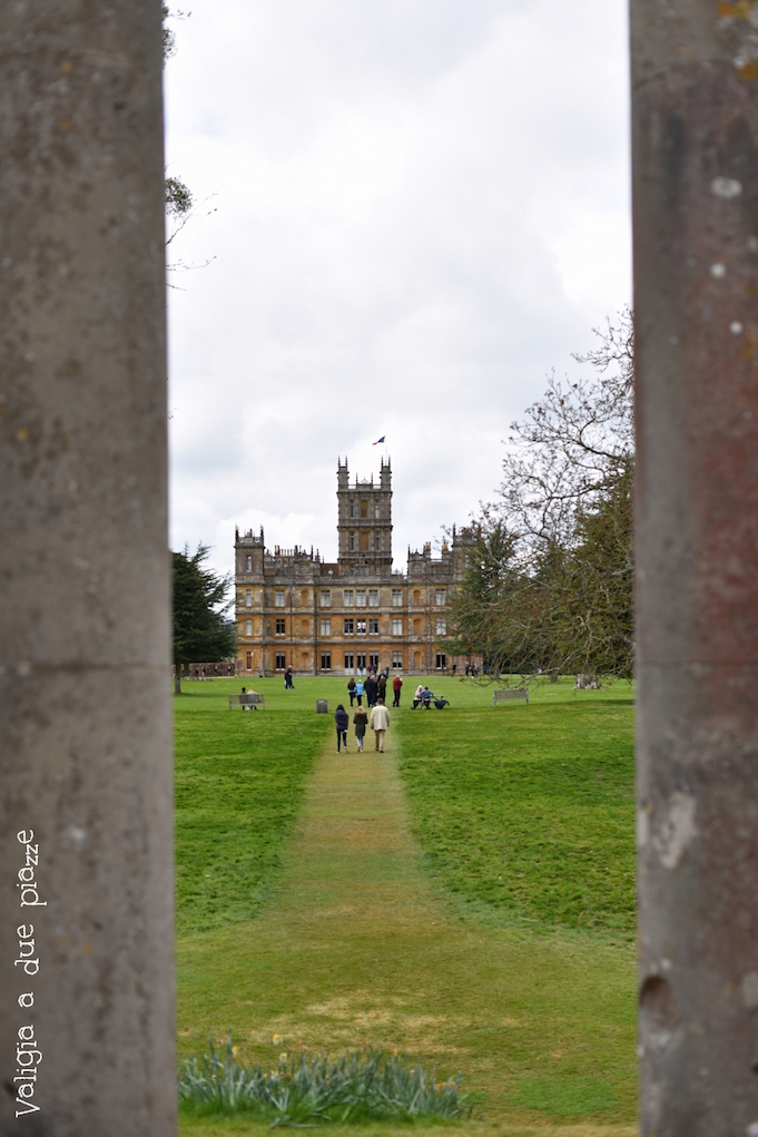 panoramica highclere castle