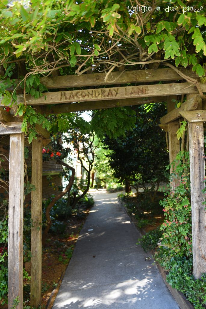 Ingresso a Barbary Lane Macondray Lane