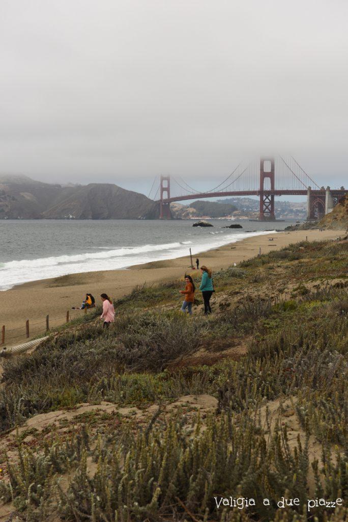 Golden Gate Bridge da Baker Beach