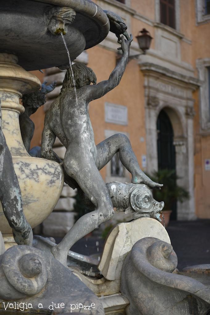 Piazza Mattei ghetto Roma