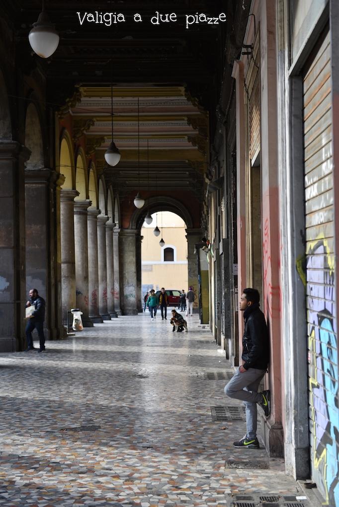 Portici piazza Vittorio Roma