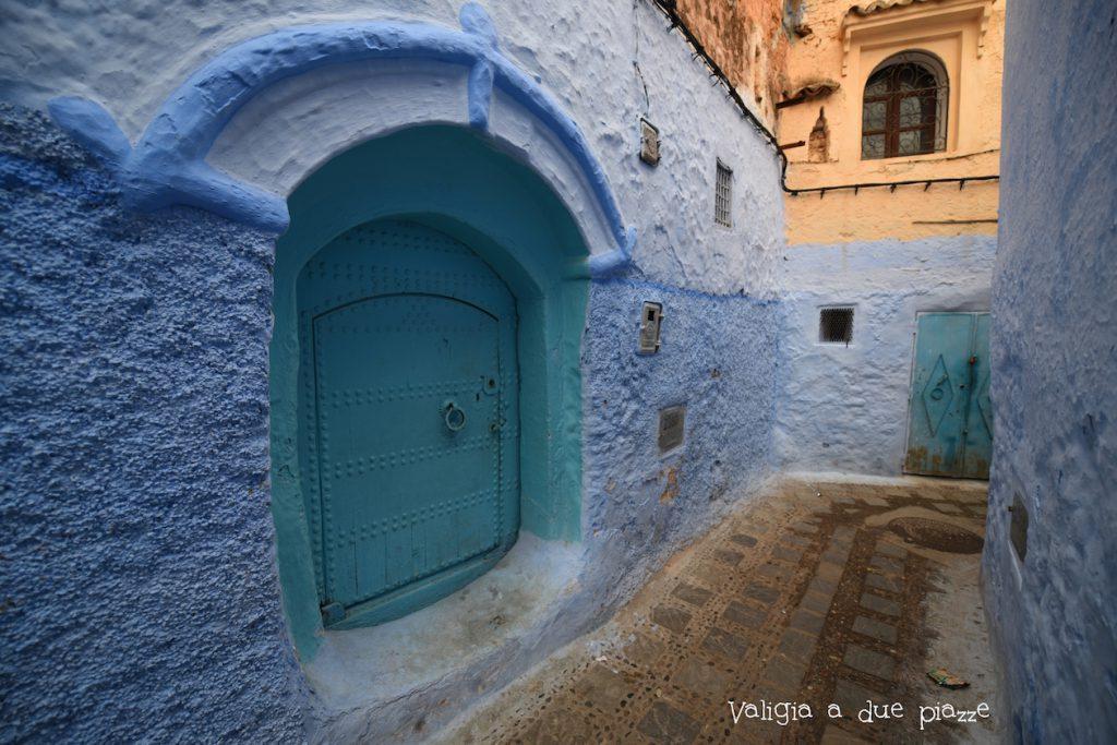 città blu marocco chefchaouen