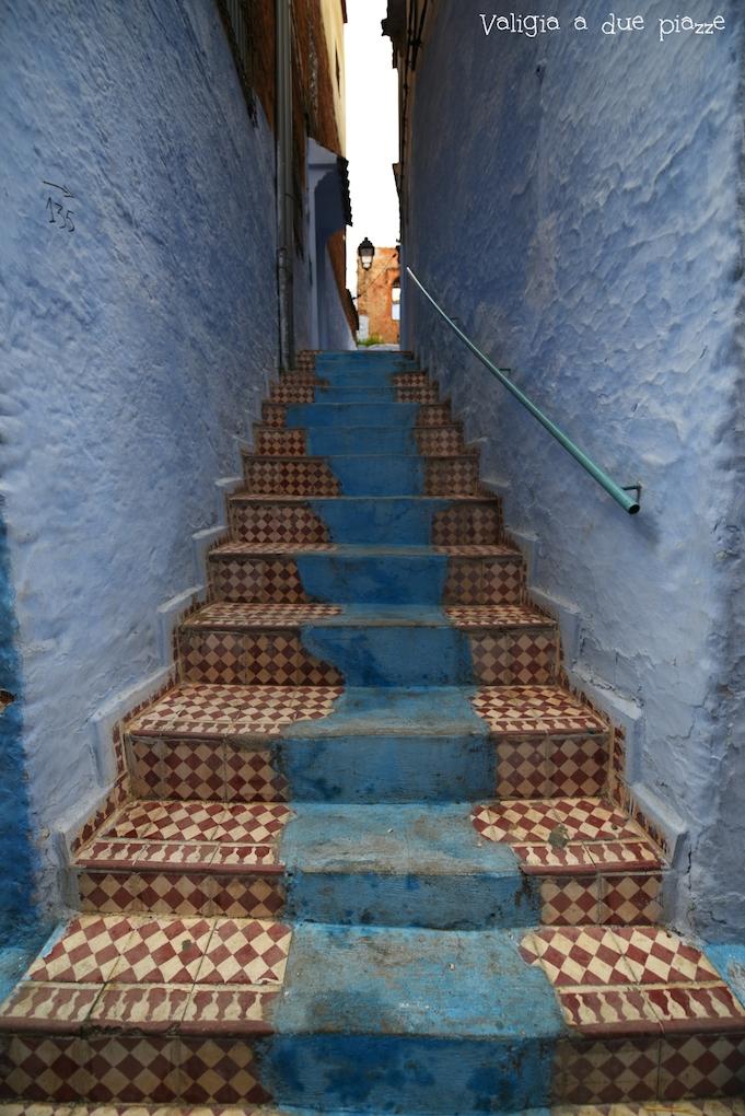 scale azzurre medina chefchaouen