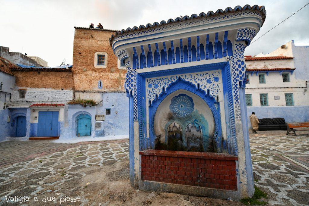 chefchaouen marocco città azzurra