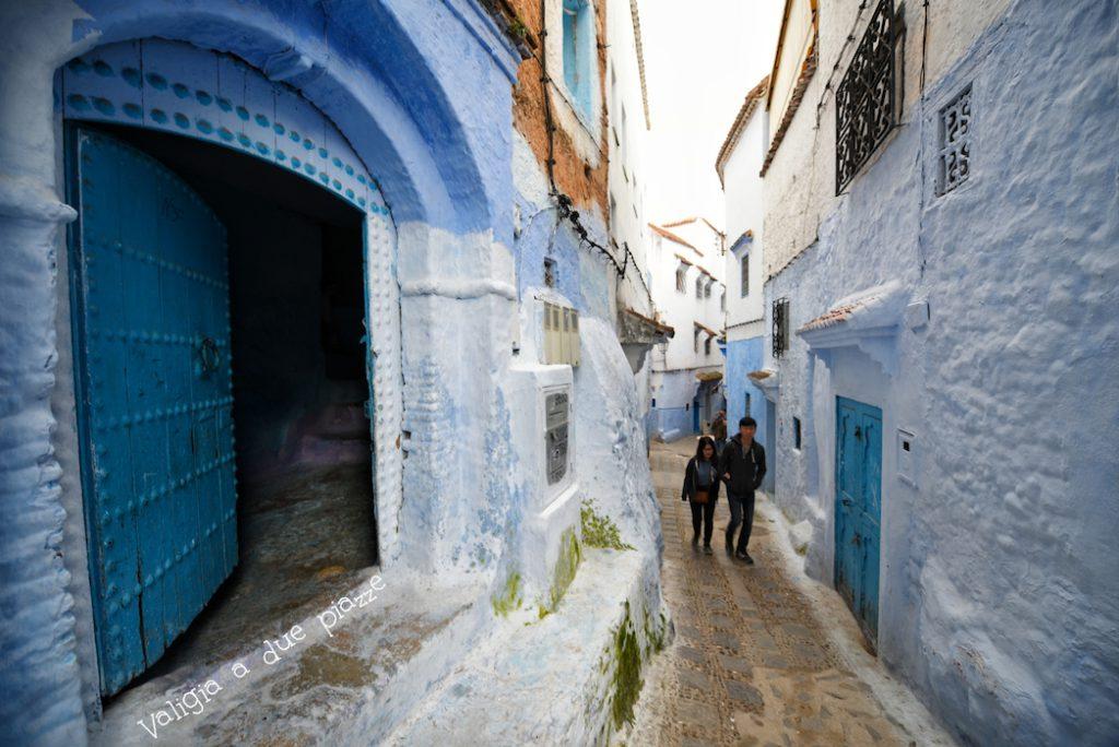 chefchaouen marocco città blu