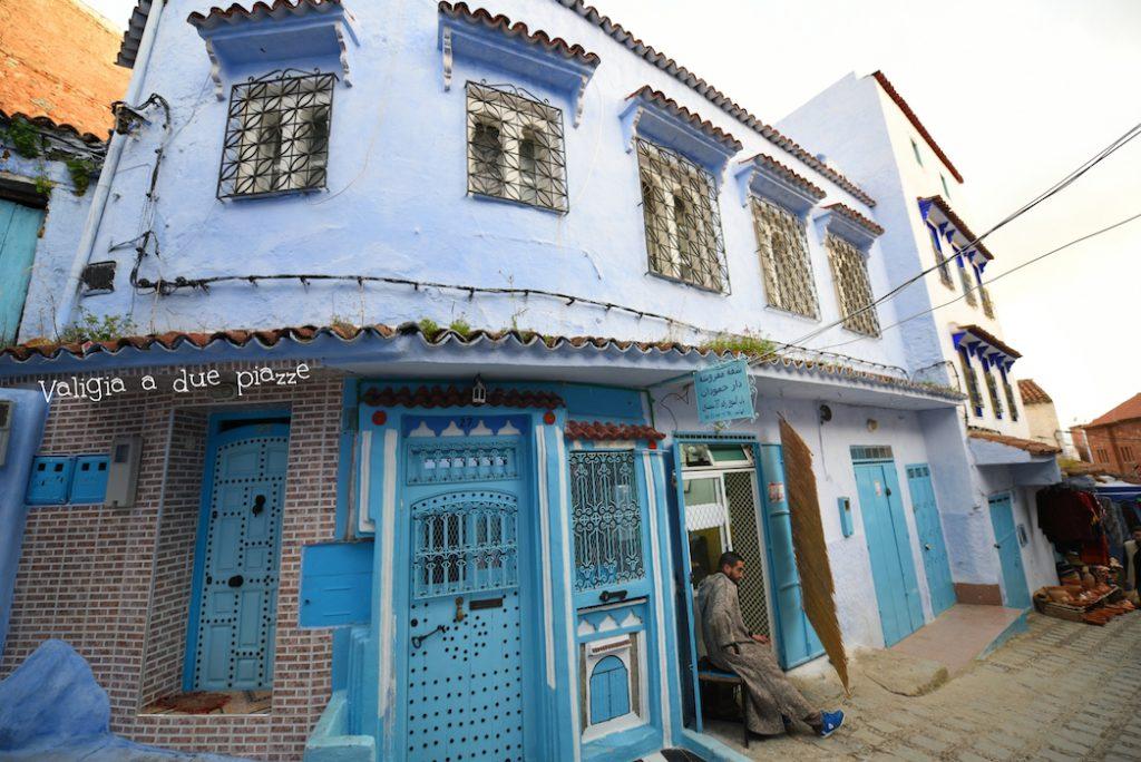 chefchaouen città blu marocco nord africa