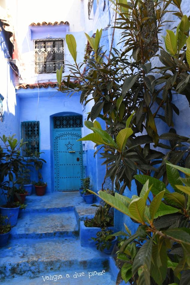 città azzurra del marocco