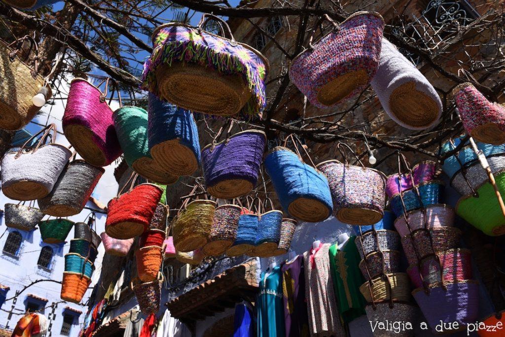 borse in rafia marocco