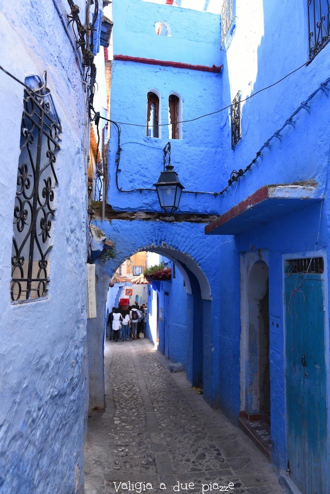 città blu del marocco