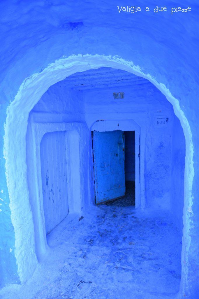 città blu porte blu