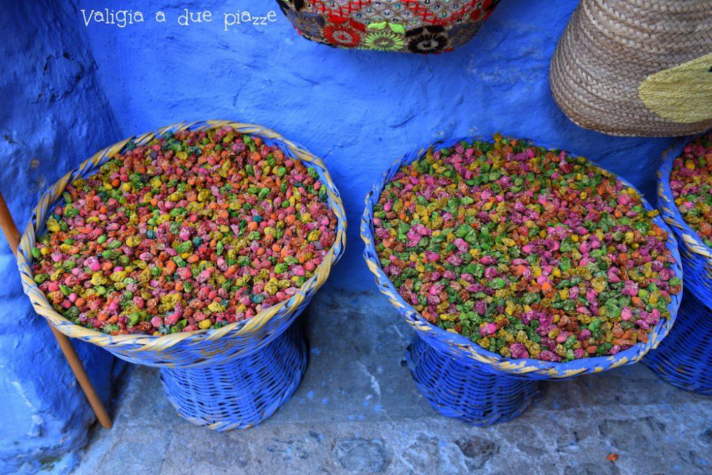fiori essiccati chefchaouen