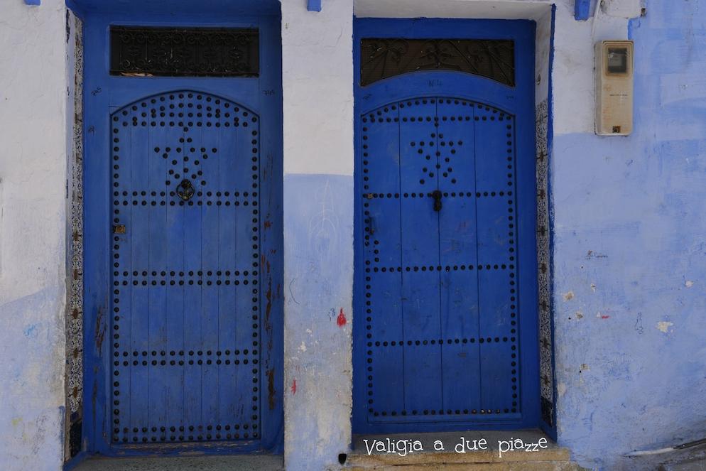 porte blu chefchaouen