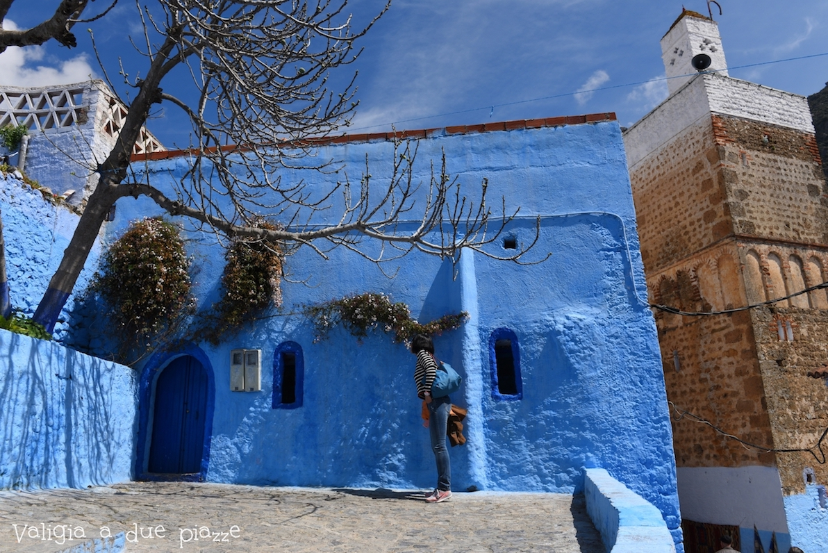 Case Blu Marocco : La città blu del marocco: chefchaouen