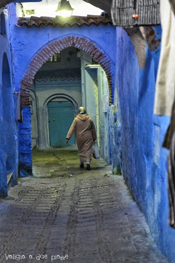 medina blu marocco