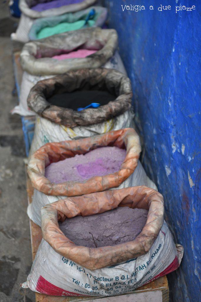 colori chefchaouen marocco