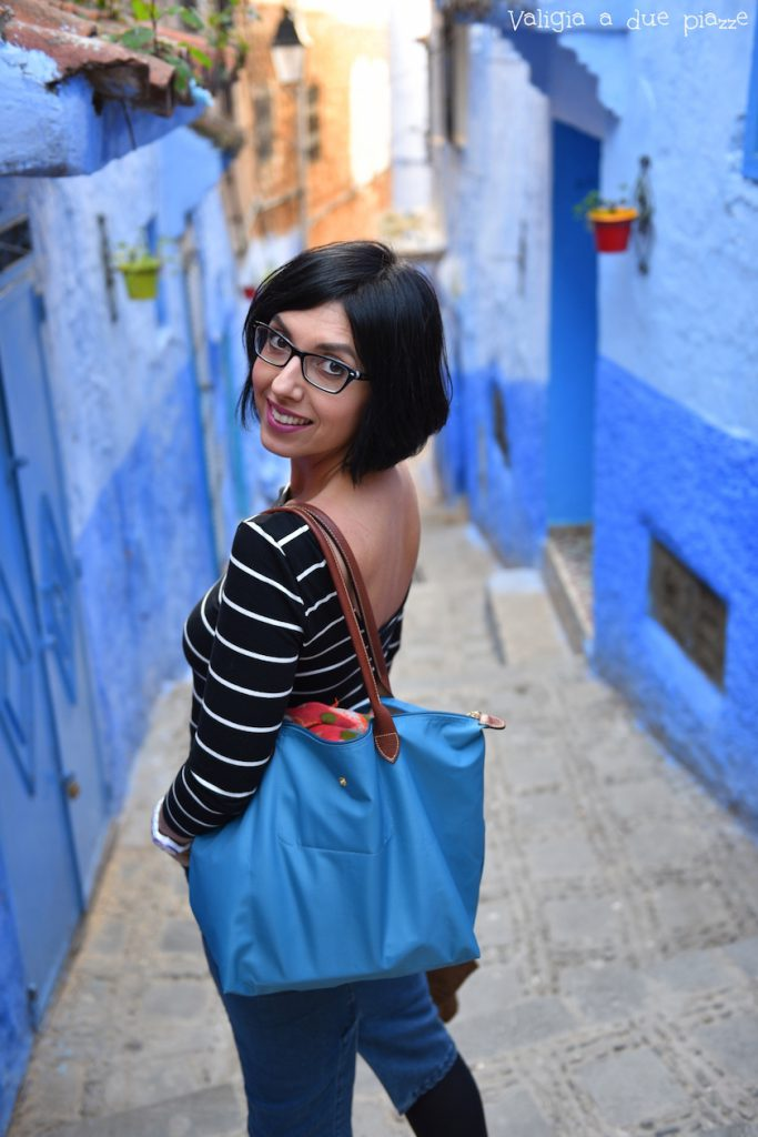 città blu chefchaouen