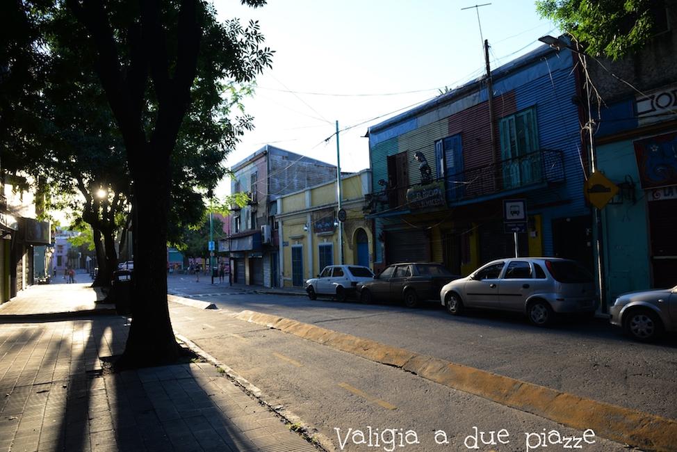 Quando cala la sera, lasciate il barrio de La Boca