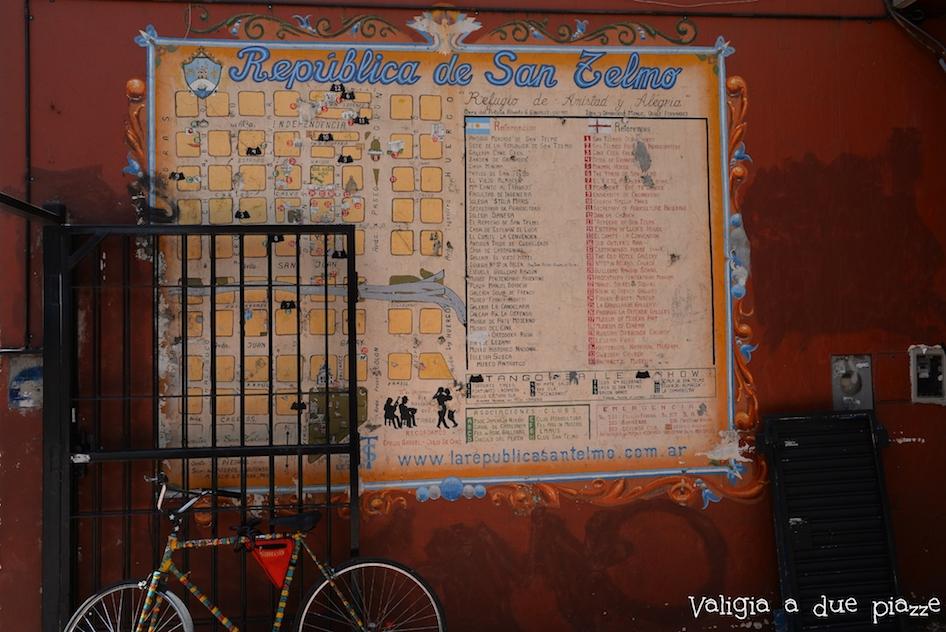mappa San Telmo Buenos Aires